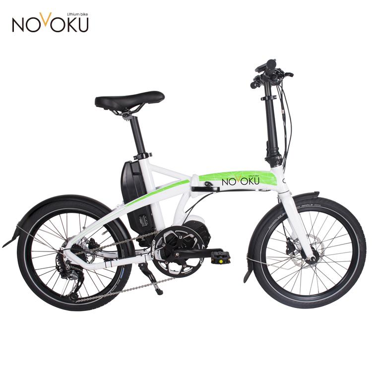 Электрический складной велосипед LEEF8610