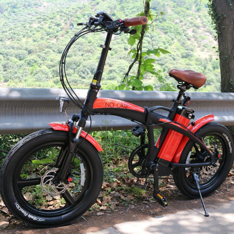 Электрический складывающий велосипед LEEF8620-1